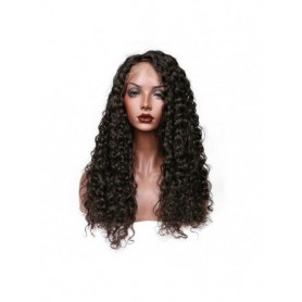 Frontal Lace wig 13x4 Deep Wave