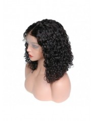 Frontal Lace wig 13x4 Italian Wave Brazilian Remy Hair Avec Baby Hair densité 180