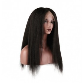 Frontal Lace Wigs Kinky Straight