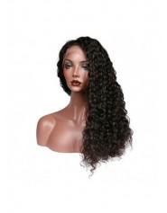 Frontal Lace wig 13x4 Deep Wave Brazilian Remy Hair Avec Baby Hair densité 180