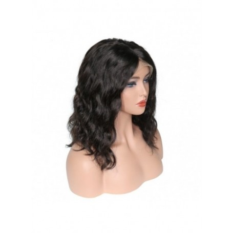 Frontal Lace wig 13x4 body wave Brazilian Remy Avec Baby Hair 14P