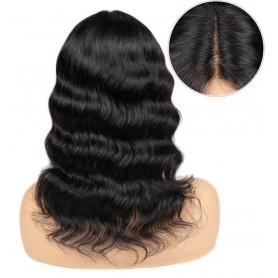 """Perruque Lace wig 4x4"""" Lisse Brazilian Remy 14"""""""