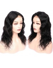 Frontal Lace wig 13x4 Body Wave Middle Part Brazilian Remy Hair Avec Baby Hair