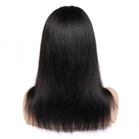 """Perruque Lace wig 4x4"""" Lisse Brazilian Remy 18"""""""