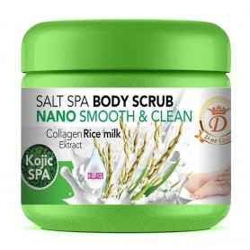 Salt Spa Body Scrub Nano Smoth And Clean Collagen Rice
