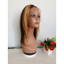 Perruque Dégradé Frontal Lace Wigs Lisse P4/27 12P