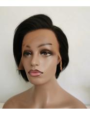 Frontal Lace Wigs Lisse 100% cheveux naturel RC 6P