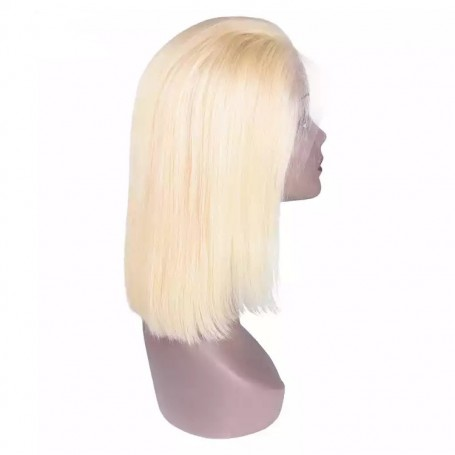 Frontal Lace Wigs Bobo Lisse Blond 613 RM 10P