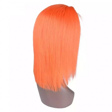 Frontal Lace Wigs Bobo Lisse Orange RM 10P