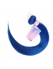 Tissage Brésilien Naturel Lisse Bleu