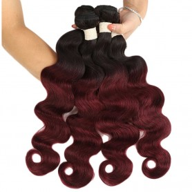 Tissage Brésilien Body Wave T1B/BG x4