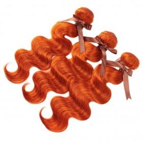 3 Tissage Brésilien Body Wave Orange