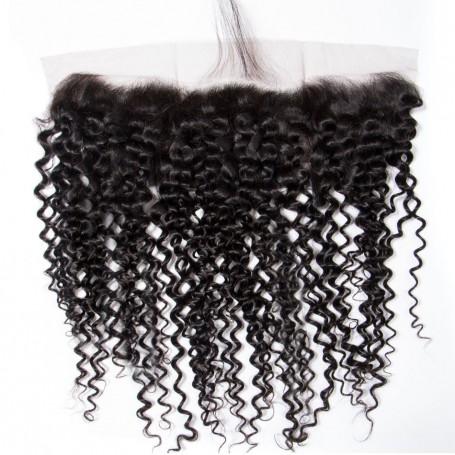 Closure brésilien frontal jerry curl