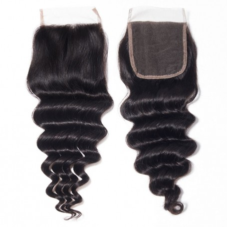 Closure brésilien deep wave 18""