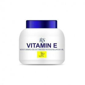 Crème hydratante à la vitamine E et à l'huile de tournesol