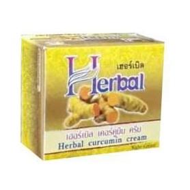 Herbal curcumin cream