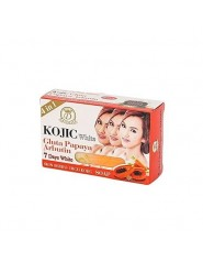 Savon kojic white gluta papaya arbutin 7 days white