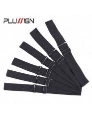 5 pices Plussign bandeau lastique rglable pour perruques couture noir perruque bandeau 25Cm 3Cm 35Cm la