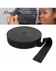 Nunify-bande lastique ajustable avec crochets Pour perruqueLace FrontalLace Closure bande lastique rond