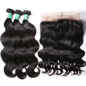 3 Tissage Brésilien Body Try Me et 1 closure 360