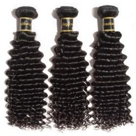 Tissage Brésilien jerry curl 100% human hair x3