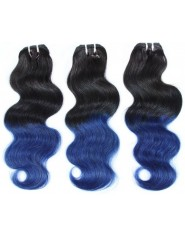 Tissage Tie And Dye Body Wave 1b/bleu x3