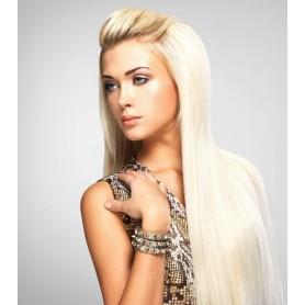 extension blond platine