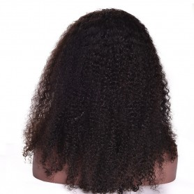 frontal lace wig kinky curl