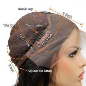 frontal lace wigs densité 180