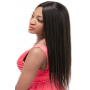 Perruque lisse 100% human hair 13x4 closure densité 180