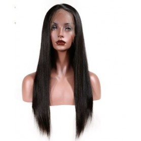 Peruvian Hair Full Lace Human Hair Wigs With Baby Hair Straight Hair Lace Wigs For Women Natural Hai
