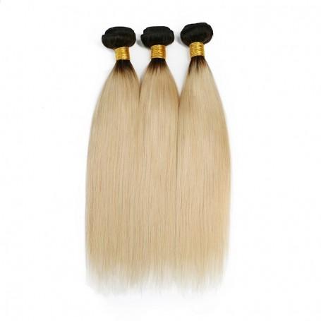 Tissage Brésilien Lisse Blond ombré 1B/613 lisse x3