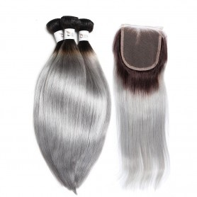 "2 Tissage Brésilien Kinky Straight Try Me 16"" ( 40 cm )"