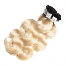 Tissage ombré 1B/613 body x3
