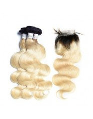"2 Tissage Bresilien Jerry Curl Try Me et Closure 20"" ( 50 cm )"