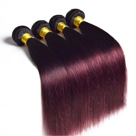 3 Tissage Brésilien Tie And Dye Purple