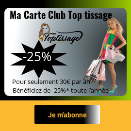 La Carte Club Top Tissage
